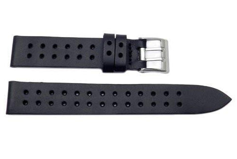 Swiss Army Striker II Black Rubber 14mm Watch Strap