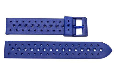 Swiss Army Striker I Blue Arnitel Rubber 18mm Watch Strap