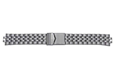 Genuine Swiss Army Starlight Summit Series Brushed 19mm Stainless Steel Watch Bracelet