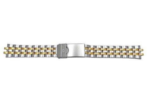 Genuine Wenger Ladies Avalanche Issue Series Dual Tone 16mm Watch Bracelet