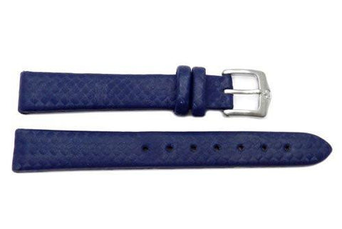 Genuine Wenger Brigade Air Series Blue 14mm Leather Watch Strap