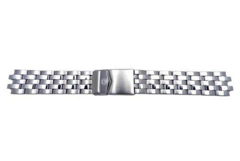 Genuine Wenger TerraGraph Big Date Series Solid Stainless Steel 19mm Watch Bracelet