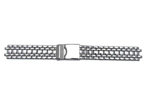Genuine Wenger Knight Series Polished Stainless Steel 18mm Watch Bracelet