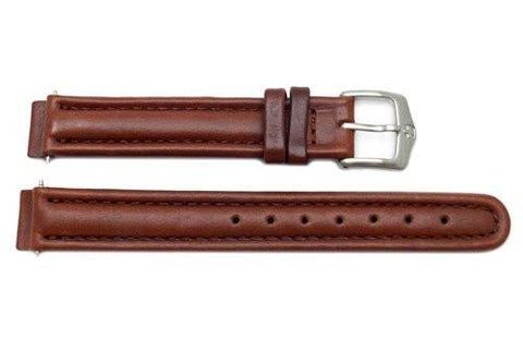 Genuine Wenger Commando Series Brown 14mm Leather Watch Band