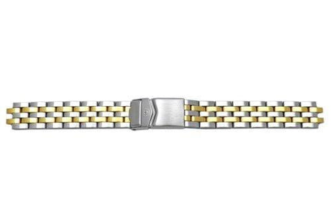 Genuine Wenger Alpine Series Brushed Dual Tone 14mm Watch Bracelet