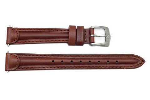 Genuine Wenger Ladies Brown 14mm Alpine Series Leather Watch Strap