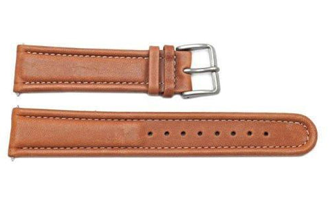 Genuine Wenger Commando Series Brown 20mm Leather Watch Band