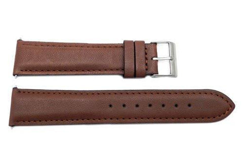 Swiss Army Field Series Leather 20mm Brown Watch Band