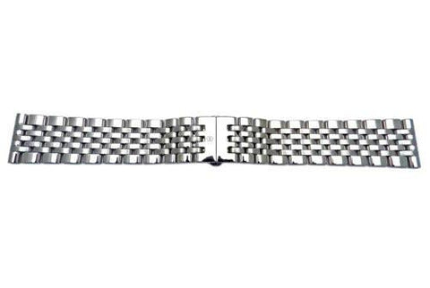 Swiss Army Infantry Series Polished Stainless Steel 22mm Watch Bracelet