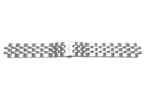 Swiss Army Alliance Series Polished Stainless Steel 17mm Watch Bracelet