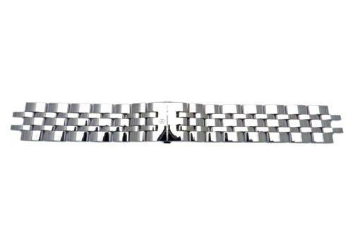 Swiss Army Alliance Series Polished Stainless Steel 21mm Watch Bracelet