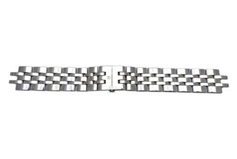 Swiss Army Alliance Series Polished Stainless Steel 20mm Watch Bracelet