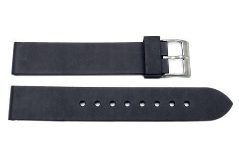 Swiss Army Field Series Black 16mm Synthetic Rubber Watch Strap
