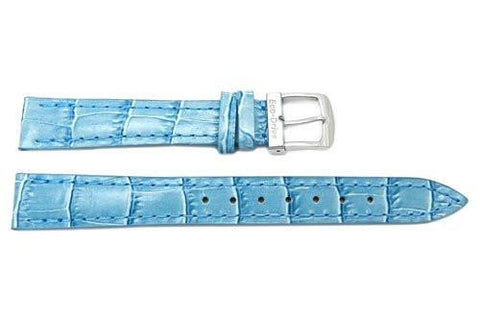 Citizen Ladies Eco-Drive Light Blue Alligator Grain 14mm Watch Strap