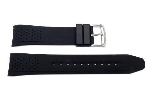 b6b01a47f22 Genuine Citizen Black Polyurethane 22mm Watch Band
