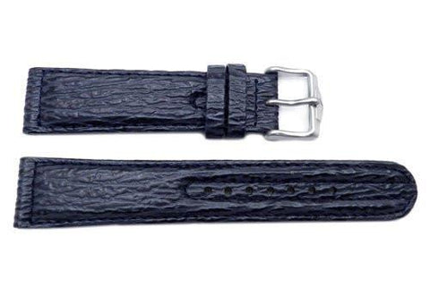 Citizen Angel Navihawk Series Blue Sharkskin 20mm Watch Strap