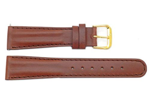 Genuine Calfskin Leather Sporty Style Watch Strap