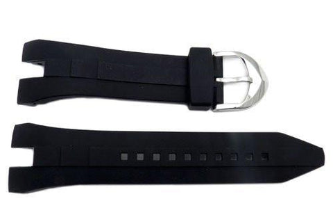 Seiko Arctura Kinetic Series Black Rubber 26mm Watch Band