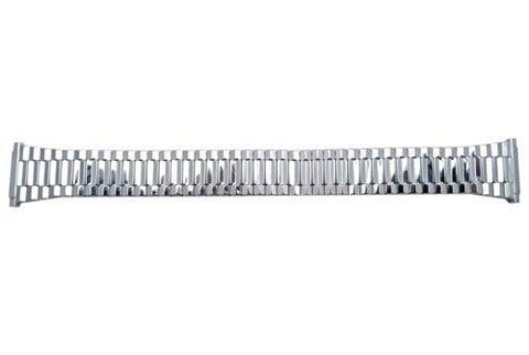 Bandino Polished Stainless Steel 15-22mm Expansion Watch Band