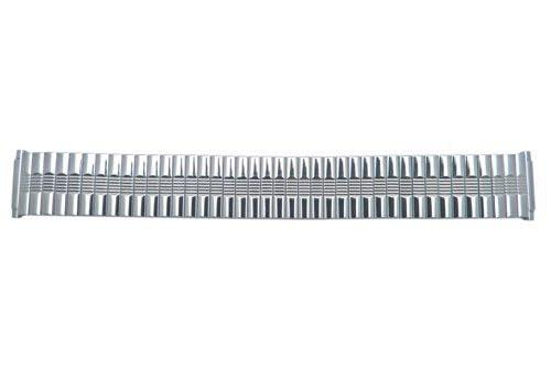 Bandino Polished Stainless Steel 16-22mm Expansion Watch Band