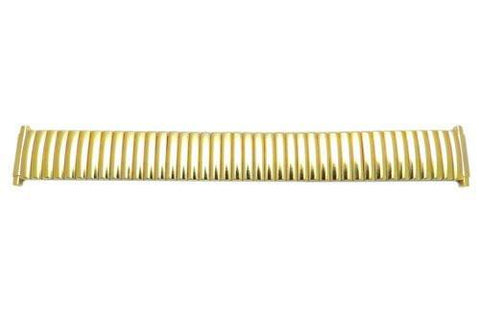 Bandino Brushed Gold Tone 16-22mm Expansion Watch Band