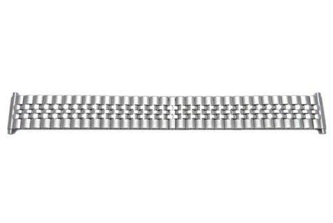 Bandino Brushed And Polished Stainless Steel 18-22mm Expansion Watch Band