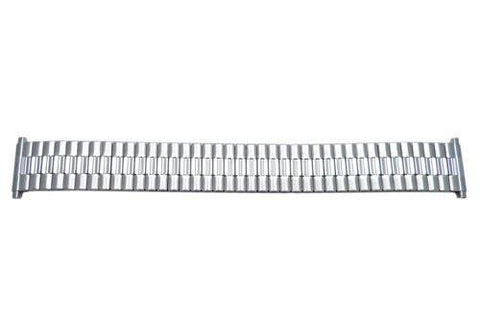 Bandino Brushed And Polished Stainless Steel 15-22mm Expansion Watch Band