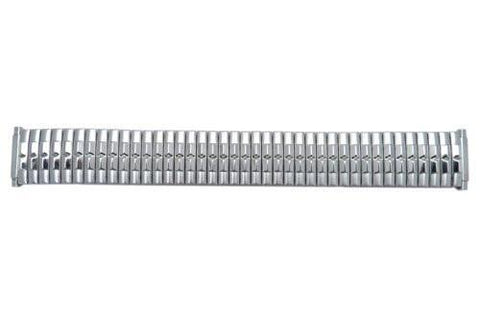 Bandino Brushed And Polished Stainless Steel 16-22mm Expansion Watch Band