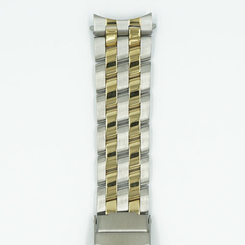20mm Dual Tone Watch Bracelet - Pilot