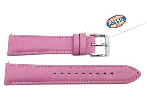 Fossil Azalea Genuine Leather 18mm Watch Strap