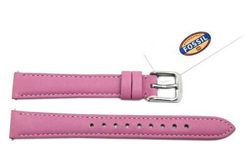Fossil Azalea Genuine Leather 14mm Watch Strap
