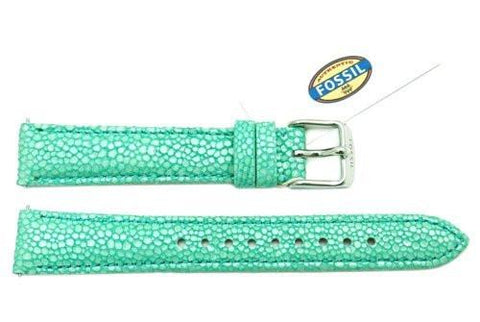Fossil Mint Soft Florence Leather 16mm Watch Strap