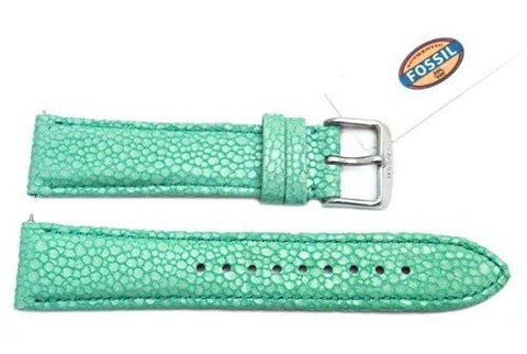 Fossil Mint Soft Cecile Leather 20mm Watch Strap