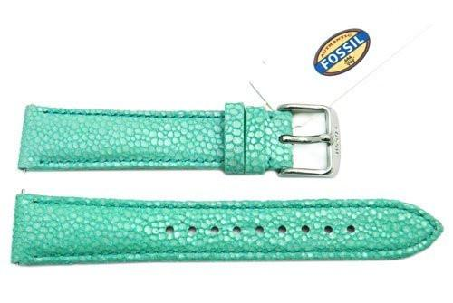 Fossil Mint Soft Florence Leather 18mm Watch Strap