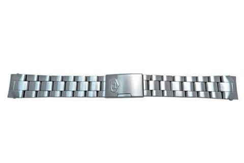 Fossil Defender Series Stainless Steel 20mm Push Button Clasp Watch Bracelet
