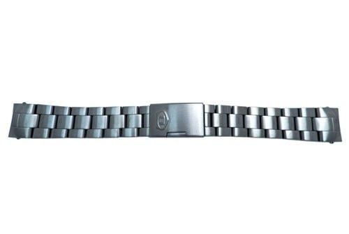 Fossil Defender Series Gun Metal 20mm Push Button Clasp Watch Bracelet