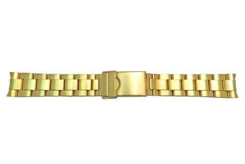 Genuine Swiss Army Maveric GS Gold Tone 18mm Watch Bracelet