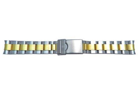 Genuine Swiss Army Maveric GS Dual Tone 18mm Watch Bracelet
