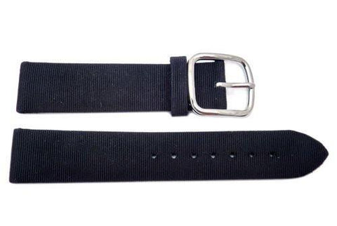 Genuine Coach Black Fabric 18mm Watch Band