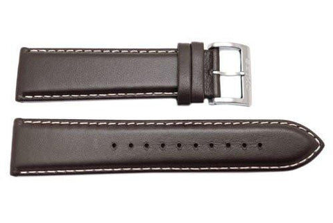 Genuine Seiko Core Series Brown 22mm Watch Strap
