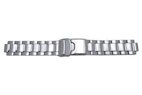 Genuine Seiko Solar Chronograph Series Stainless Steel 20mm Watch Bracelet