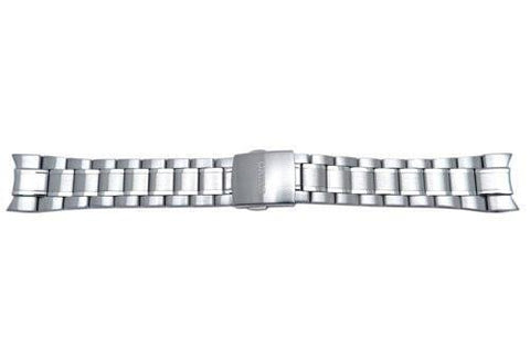 Seiko Stainless Steel Push Button Clasp 21mm Watch Bracelet