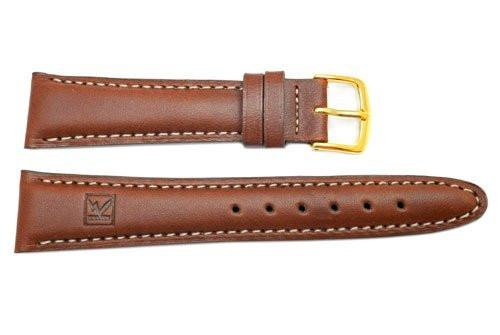 Seiko Kinetic Series Brown 20mm Leather Watch Band