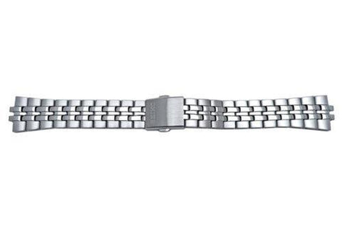 Seiko Stainless Steel Push Button Clasp 18mm Watch Bracelet