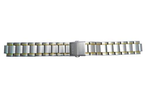 Seiko Kinetic Series Dual Tone 19mm Watch Bracelet