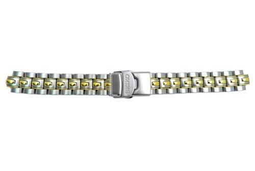 Seiko Dual Tone Stainless Steel 18mm Watch Bracelet
