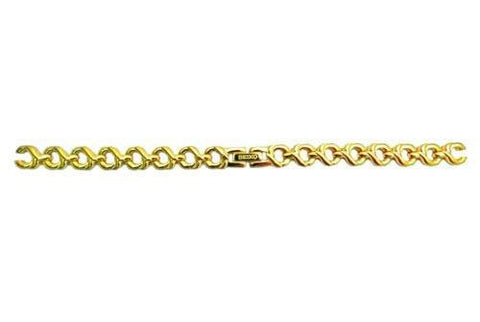 Genuine Seiko Ladies Gold Tone 9mm Replacement Watch Bracelet