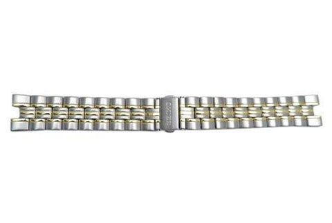 Genuine Seiko Dual Tone 19mm Kinetic Watch Band