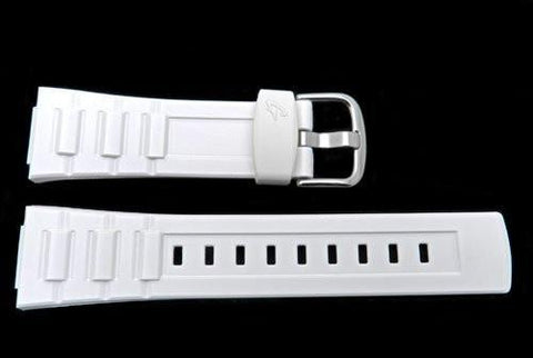 Genuine Casio Baby G White Resin 23/14mm Watch Strap