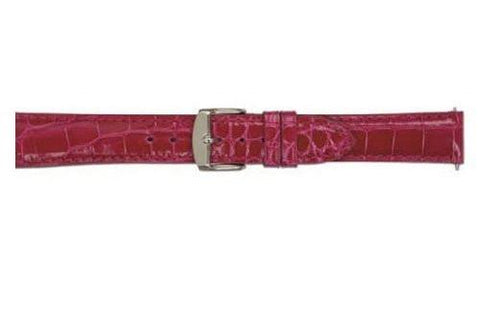 Hadley Roma Berry Genuine Shiny Alligator Womens Watch Strap